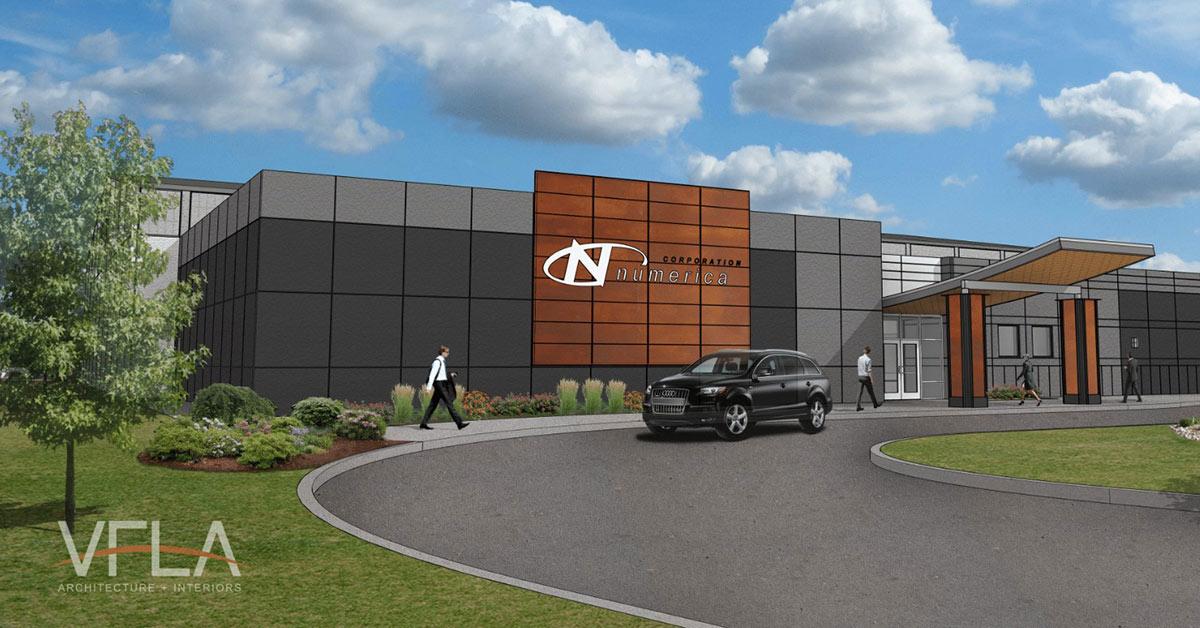 Numerica New Building Concept