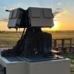 A picture containing an open field, outdoor, sky at sunset, outdoor object (Numerica Spyglass 3D radar solution